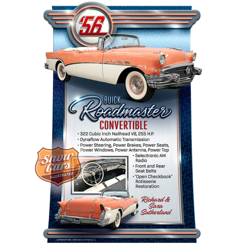 1956-Buick-Roadmaster-Convertible-Drive-In-Theme-Show-Cars-Illustrated-Car-Show-Signs