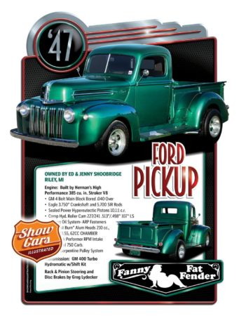 Custom Car Show Boards  Car Show Signs Gallery Show-Cars-Illustrated-1947_Ford-Pickup