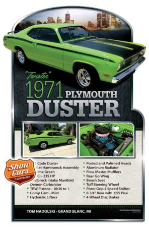 Custom Car Show Boards Custom-Car-Show-Boards-Show-Cars-Illustrated-Show-Cars-1971-Duster