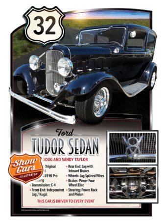 1932-Ford-Tudor-Sedan Car Show Signs Car Show Boards Classic Cars Muscle Cars Car Shows
