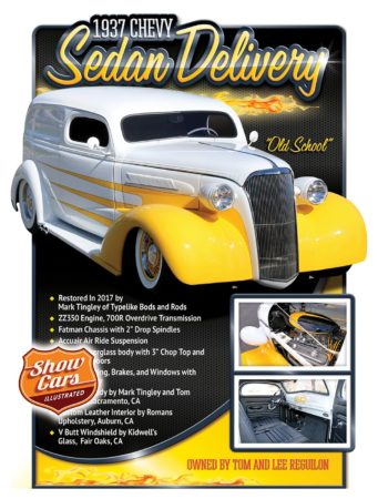 Car Show Signs Car Show Boards Classic Cars Muscle Cars 1937 Chevrolet-Sedan-Delivery