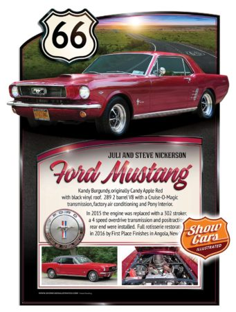 Car-Show-Signs-Show-Cars-Illustrated-1966-Ford-Mustang