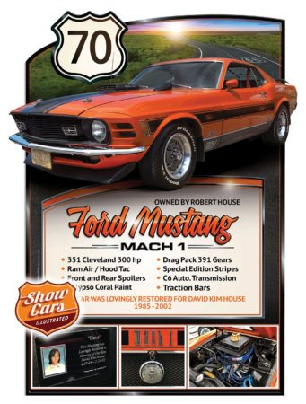Car Show Signs Car Show Boards Classic Cars Muscle Cars Car Shows 1970-Ford-Mustang-Mach-1