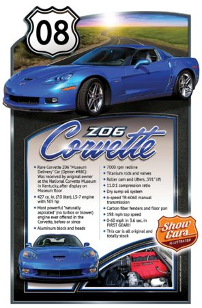 Car Show Poster Board