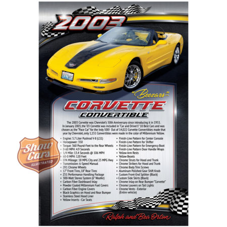 2003-Corvette-Convertible-Raceway-Theme-Show-Cars-Illustrated-Car-Show-Signs