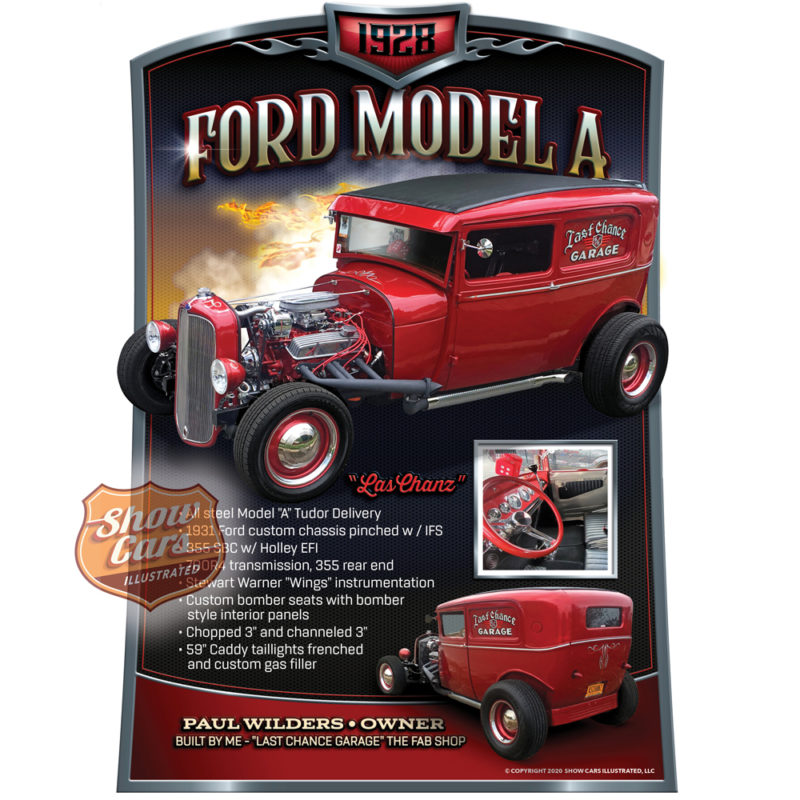 Hot-Rod-Theme-Show-Cars-Illustrated-Car-Show-Signs-1928-Ford-Model-A
